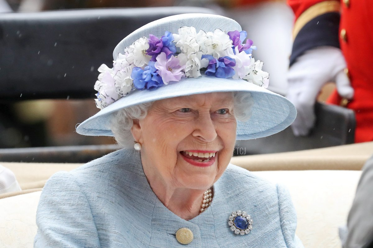 Queen Elizabeth II arrives on day two of Royal Ascot at Ascot Racecourse on June 19, 2019 in Ascot, England