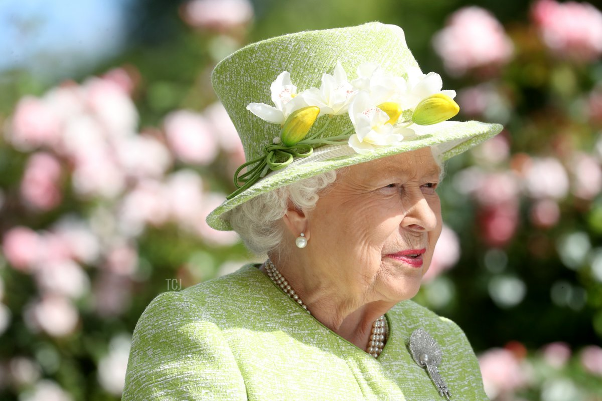 Queen Elizabeth II attends day five of Royal Ascot at Ascot Racecourse on June 22, 2019 in Ascot, England