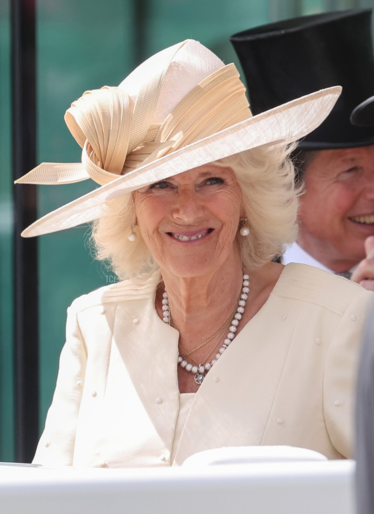 Camilla, Duchess of Cornwall attends Royal Ascot 2021 at Ascot Racecourse on June 16, 2021 in Ascot, England