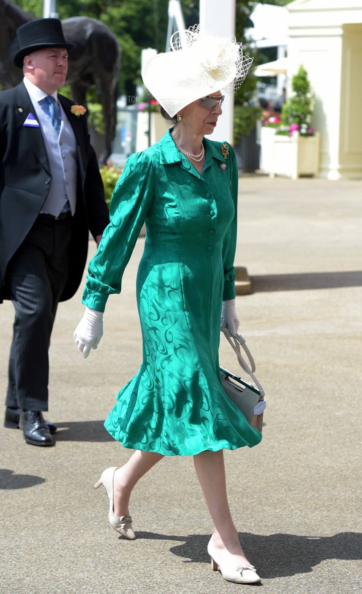 Princess Anne, Princess Royal is seen during Royal Ascot 2021 at Ascot Racecourse on June 16, 2021 in Ascot, England