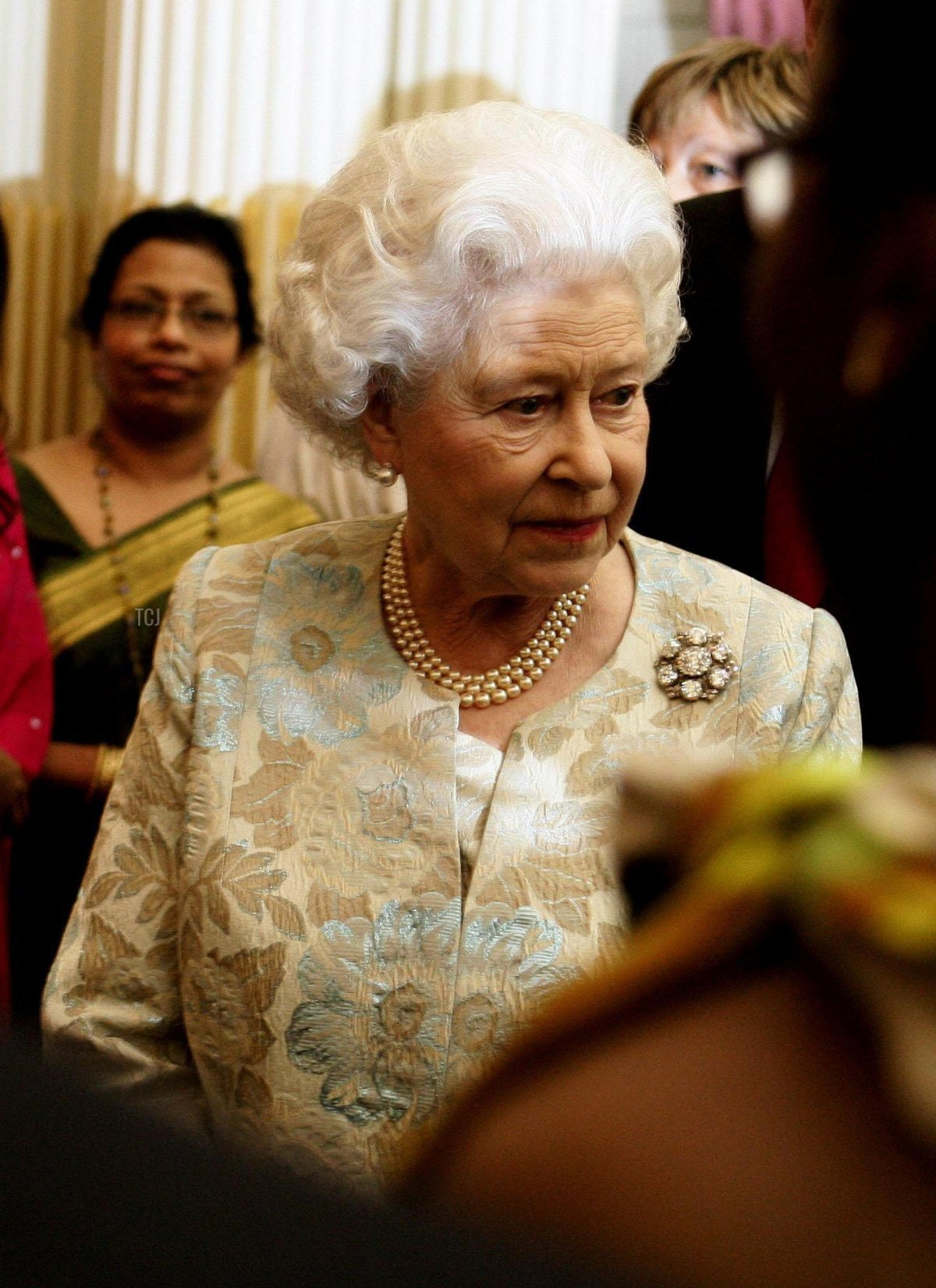 The Queen attends the Commonwealth Day Reception at the Commonwealth Secretariat, Marlborough House, London, 10 Mar 2008
