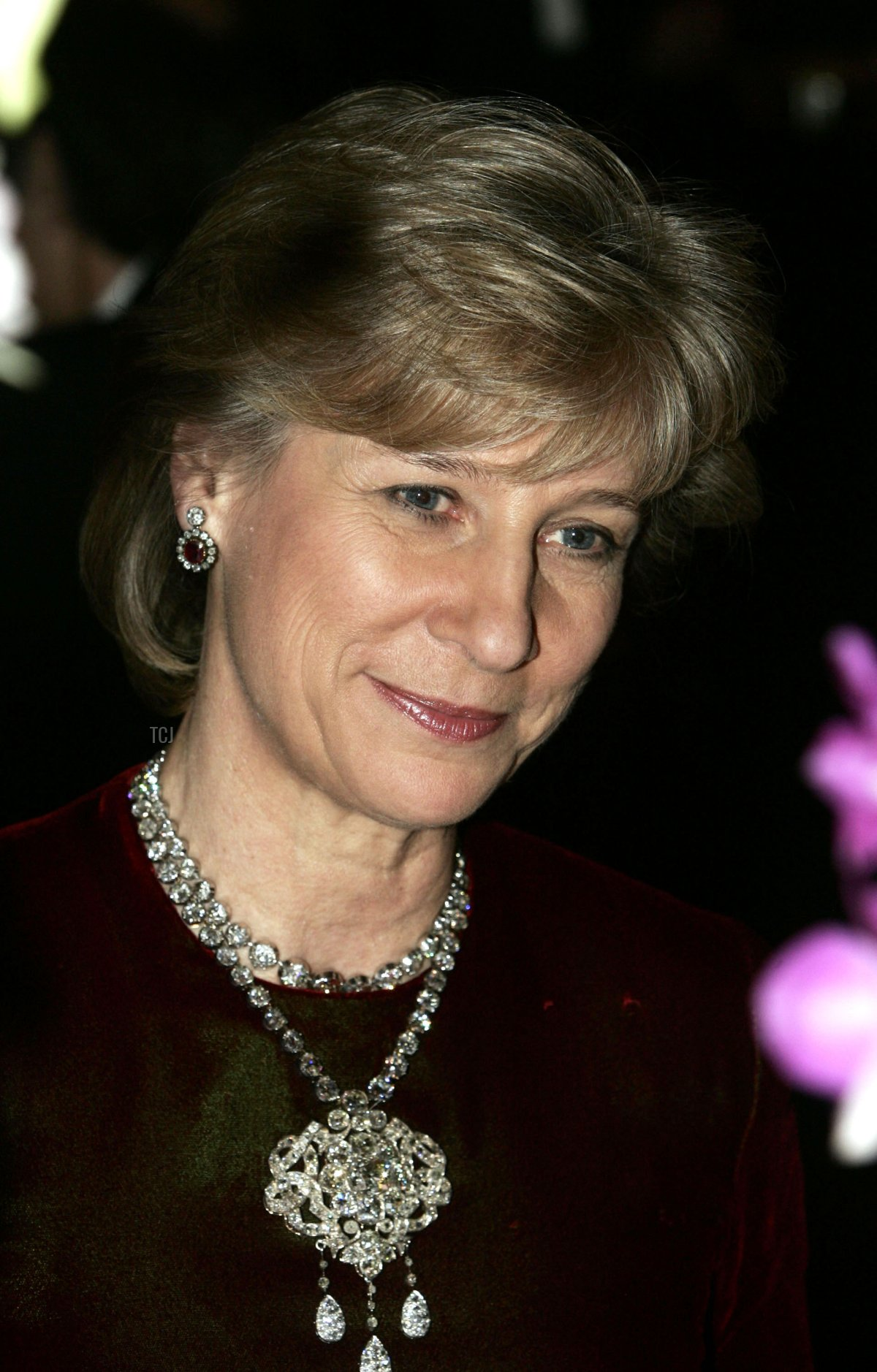 The Duchess of Gloucester attends the Child Abuse Foundation Gala at the Castle of Versailles on December 6, 2004 in Versailles, France