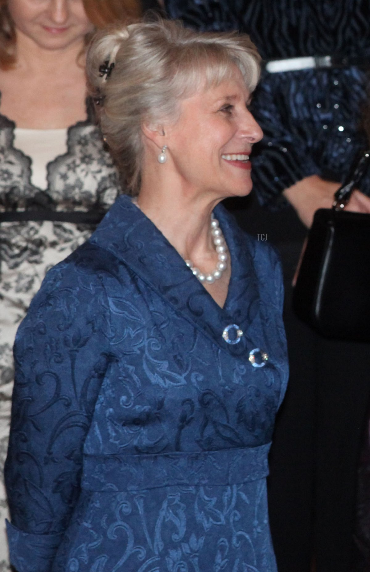 The Duchess of Gloucester attends a concert at Laeken Castle at Laeken Castle on November 16, 2010 in Brussels, Belgium