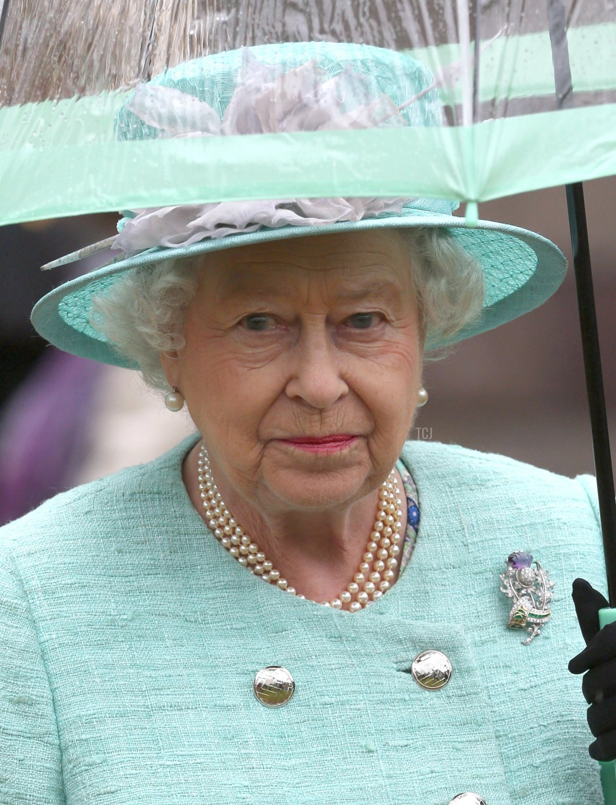 Queen Elizabeth II hosts a garden party at the Palace of Holyrood house on July 2, 2013 in Edinburgh, Scotland