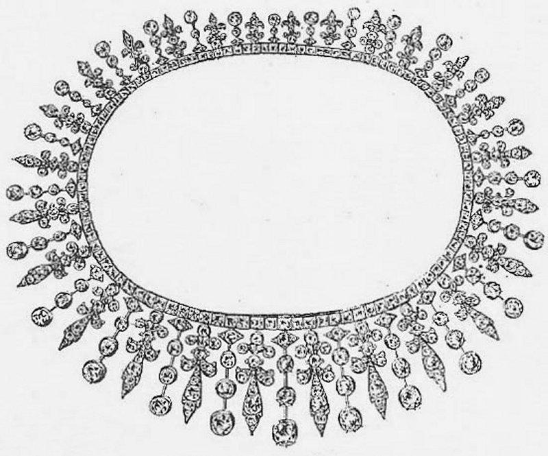 Princess May's convertible wedding tiara