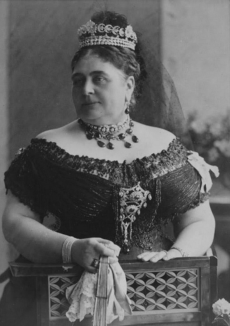 Princess Mary Adelaide, Duchess of Teck, ca. 1893