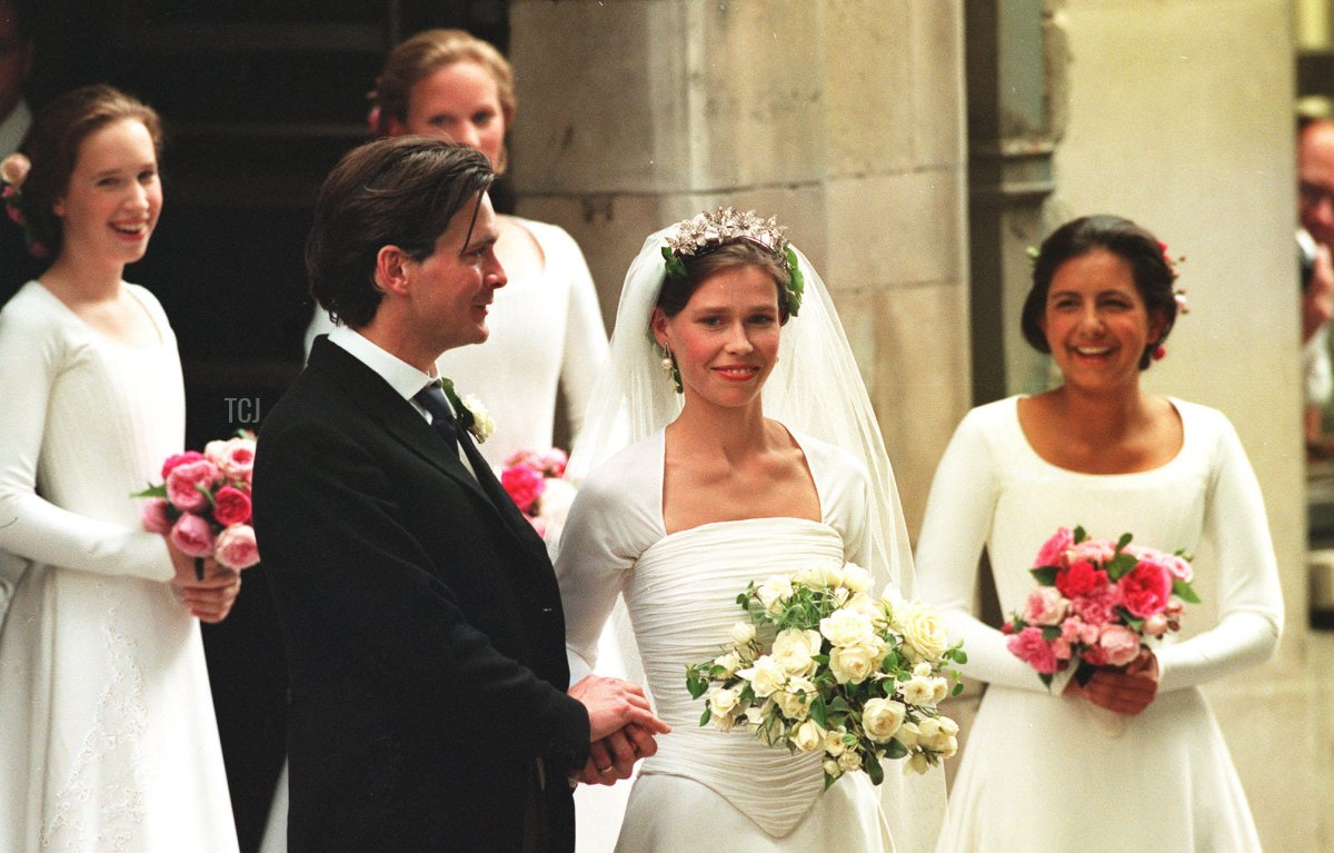 Lady Sarah Armstrong-Jones and Daniel Chatto Wedding - St Stephen Walbrook Church