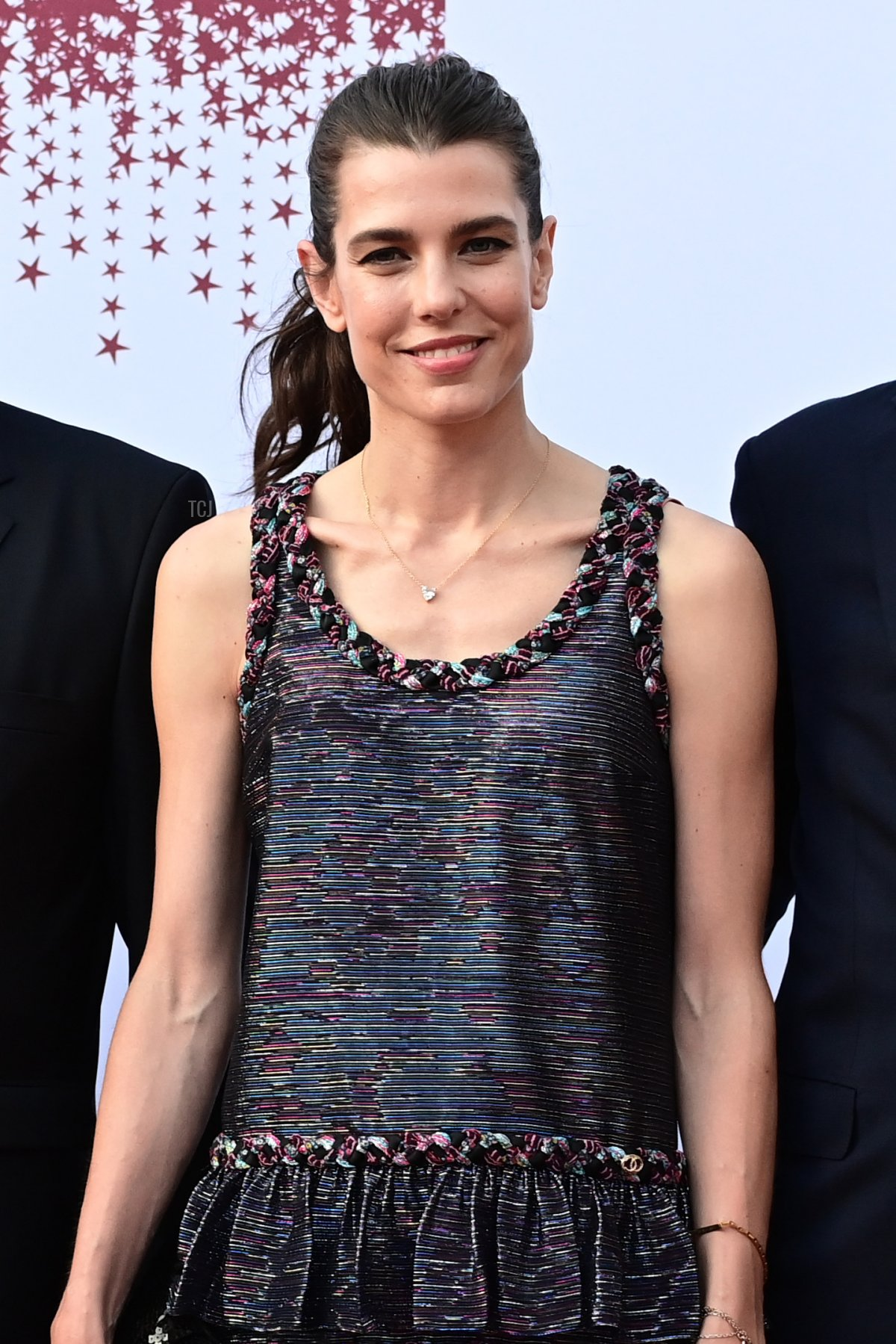 Charlotte Rassam attends the Red Cross Summer Concert on July 16, 2021 in Monte-Carlo, Monaco