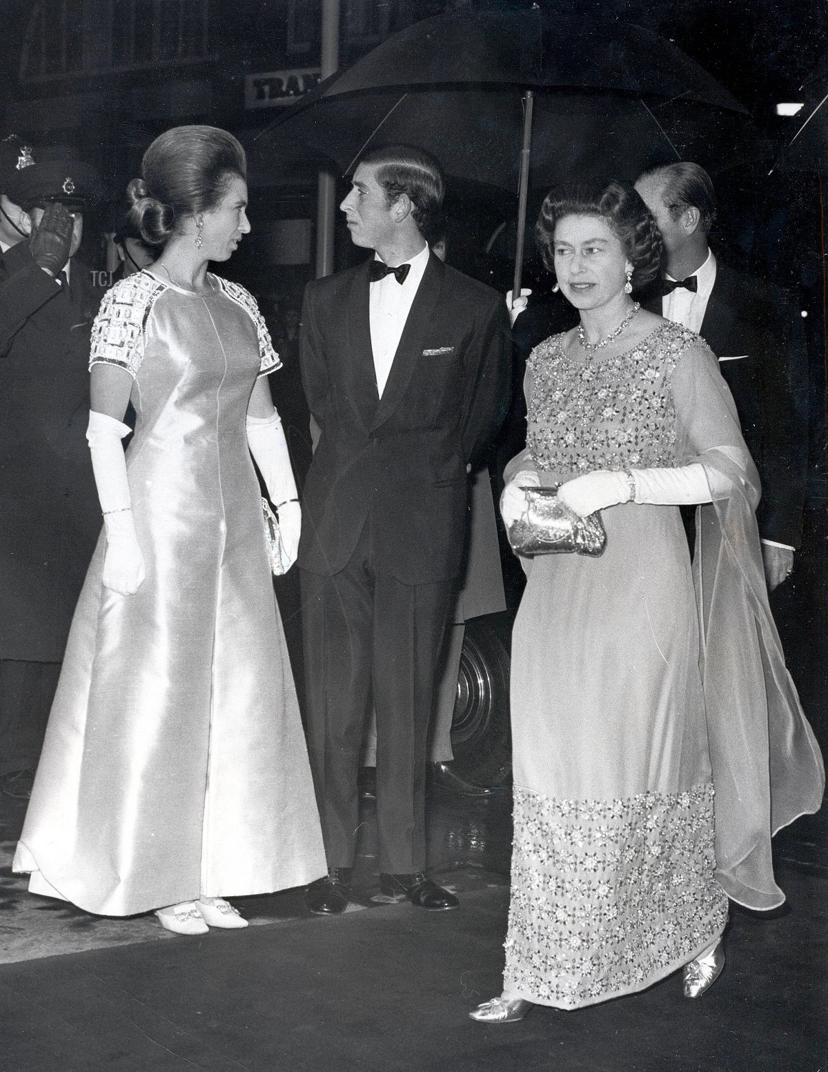 Nov. 18, 1970 - Queen Elizabeth II, Prince Philip, Prince Charles, and Princess Anne attend the Royal Gala in Aid of the World Wildlife Fund