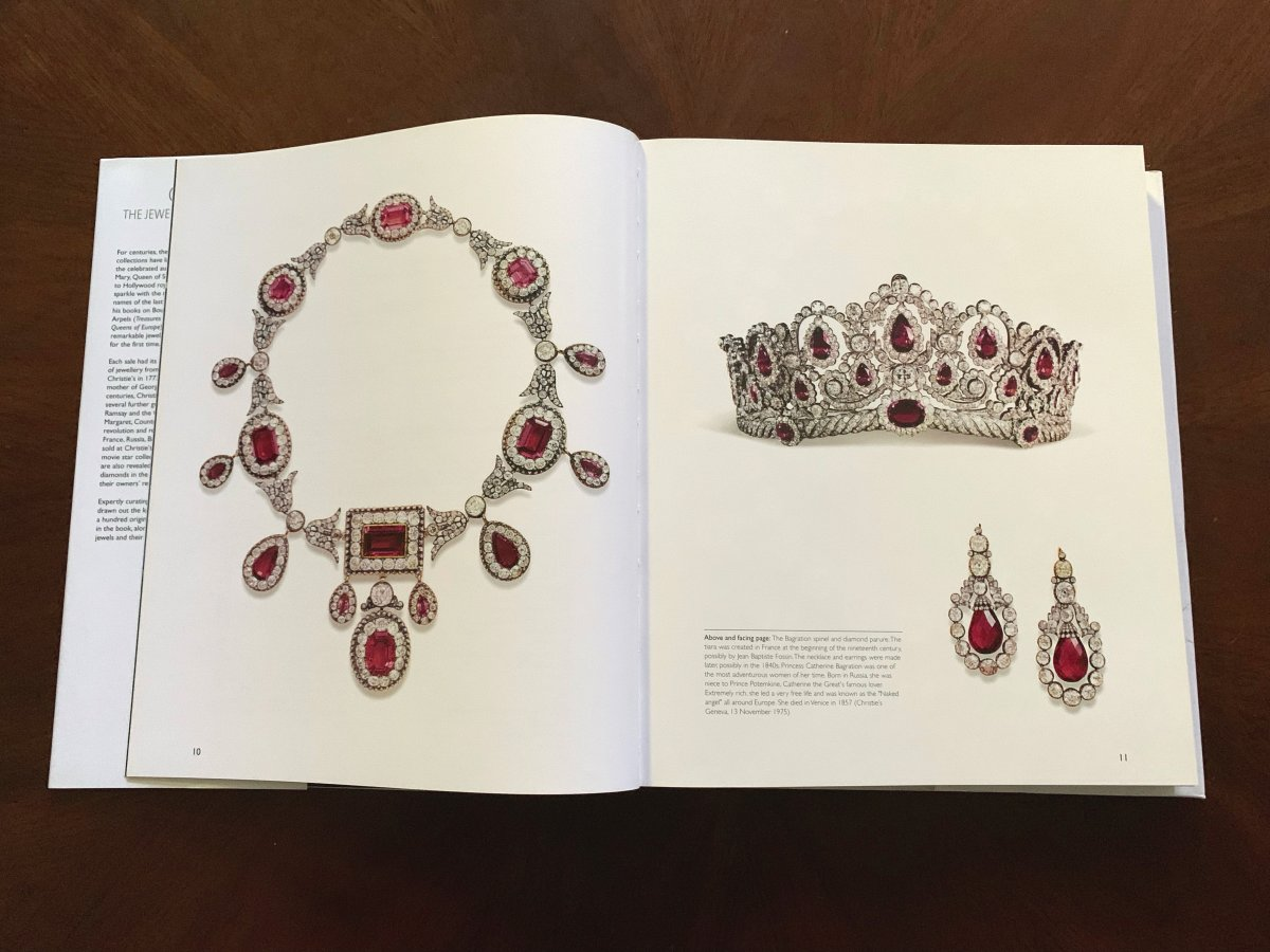 The Bagration Parure in Christie's: The Jewellery Archives Revealed
