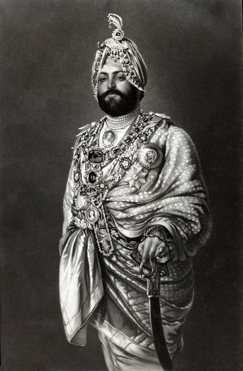 Maharajah Duleep Singh, ca. 1875