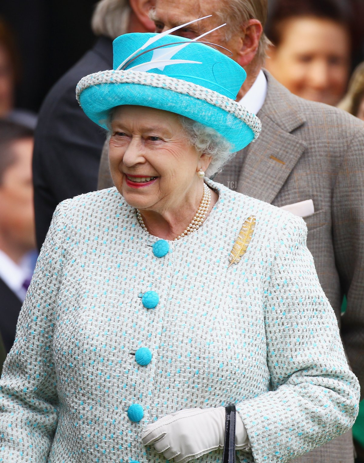 Queen Elizabeth II attends the Braemar Highland Games at The Princess Royal and Duke of Fife Memorial Park on September 3, 2011 in Braemar, Scotland