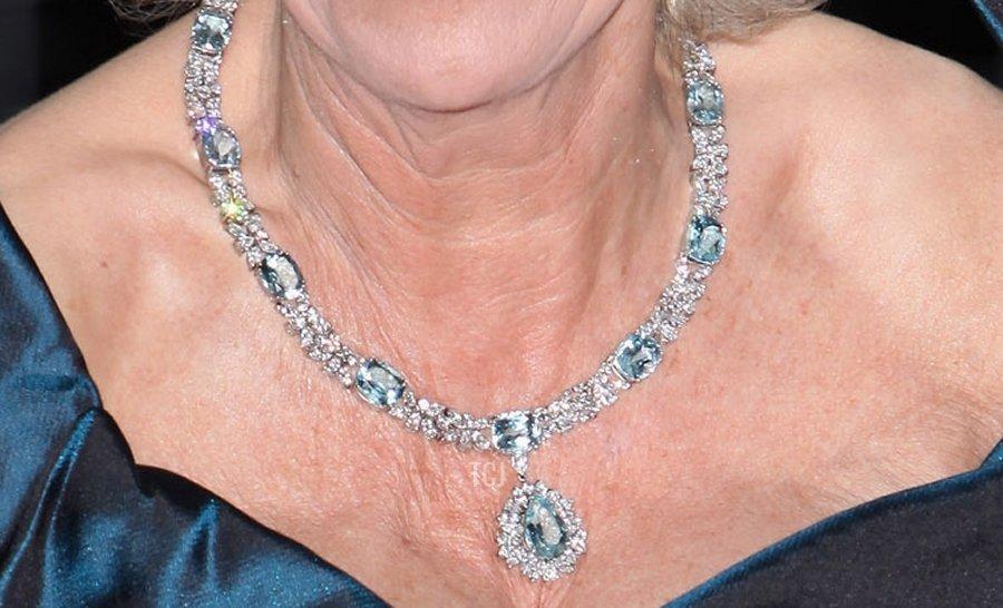 Camilla's Aquamarine Necklace