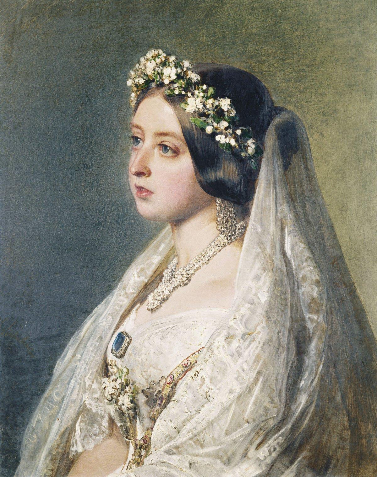 Queen Victoria by Winterhalter, 1847