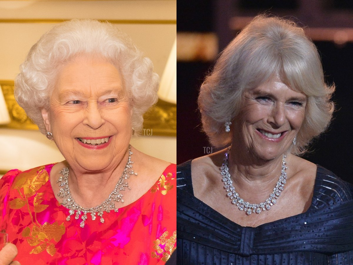 The King Khalid Necklace and Camilla's Pear-Shaped Diamond Necklace