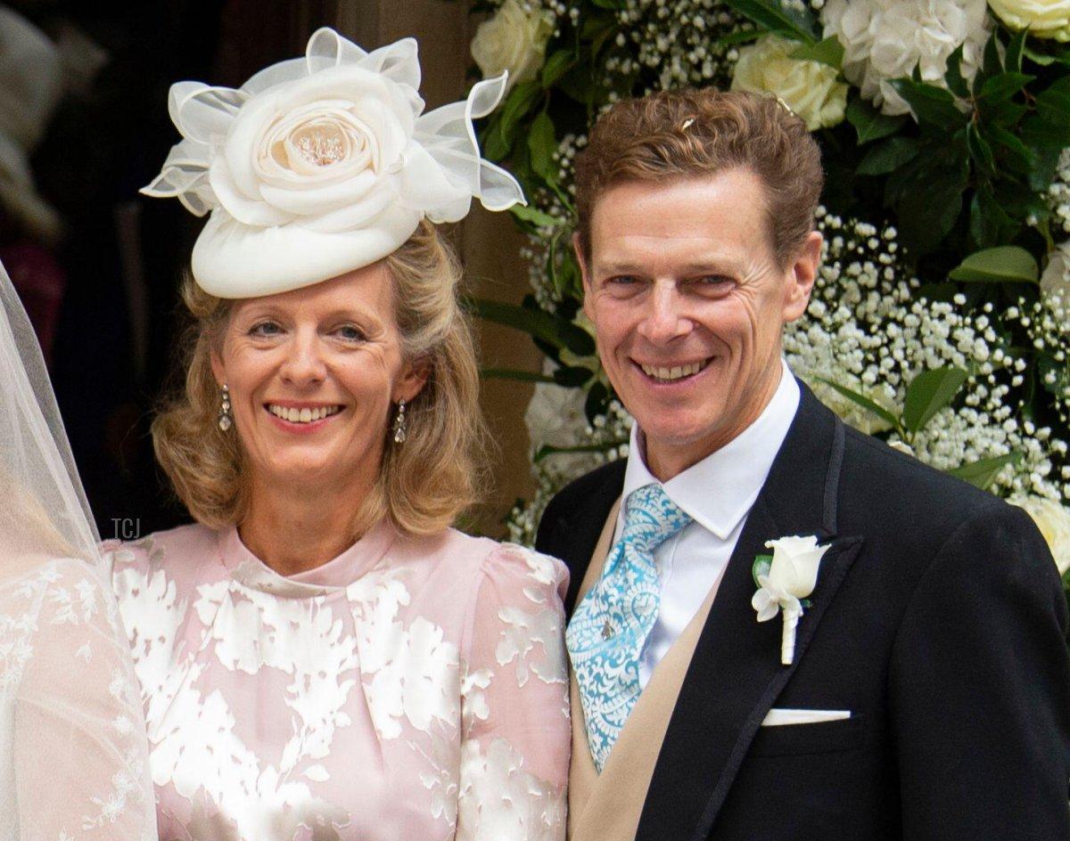 London, UK. 10th Sep, 2021. September 10, 2021, London, UK The Wedding of Flora Ogilvy and Timothy Vesterberg Wedding