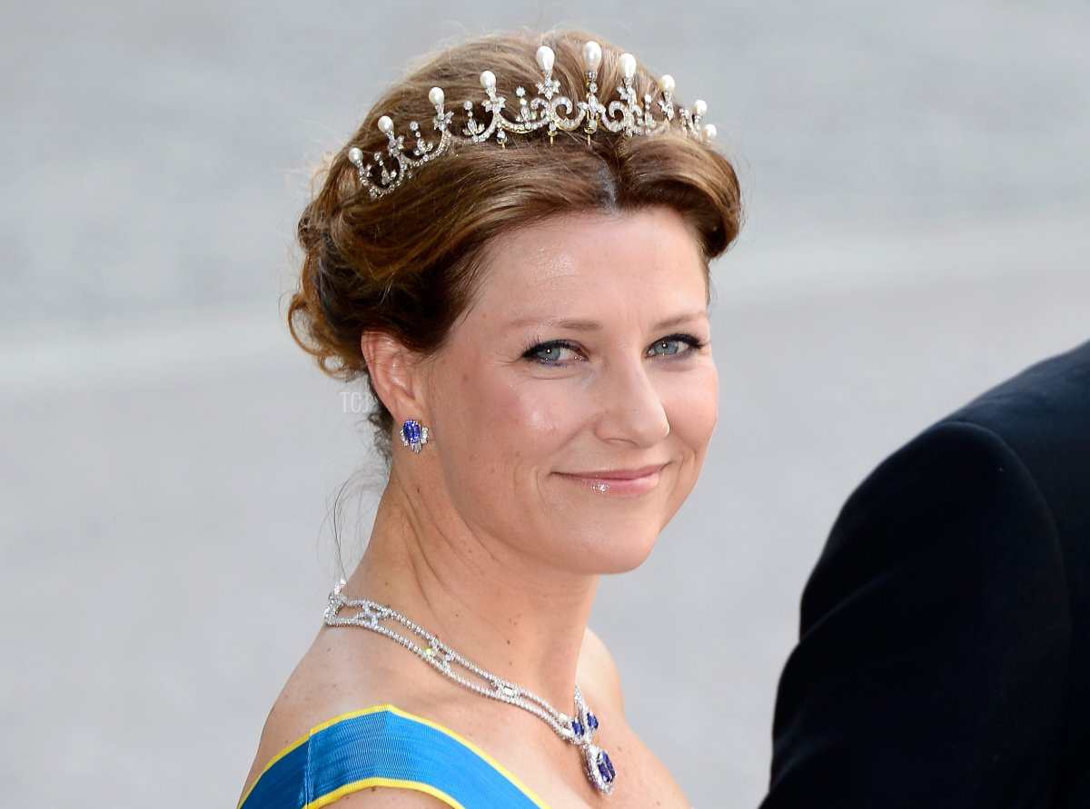 Princess Martha Louise of Norway attends the wedding of Princess Madeleine of Sweden and Christopher O'Neill hosted by King Carl Gustaf XIV and Queen Silvia at The Royal Palace on June 8, 2013 in Stockholm, Sweden