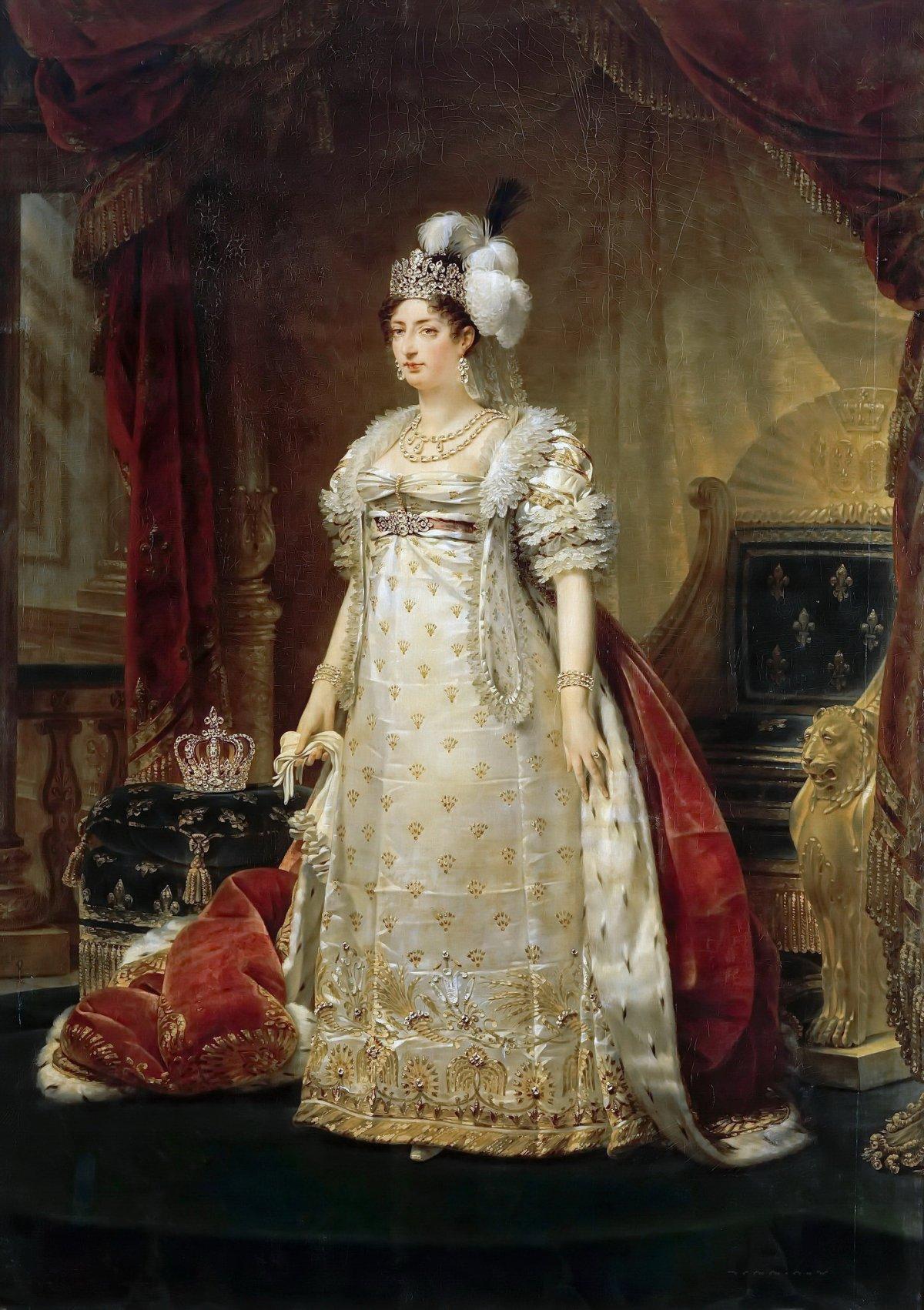 Portrait of Marie Thérèse Charlotte of France, Duchesse d'Angoulême by Antoine-Jean Gros, ca. 1816