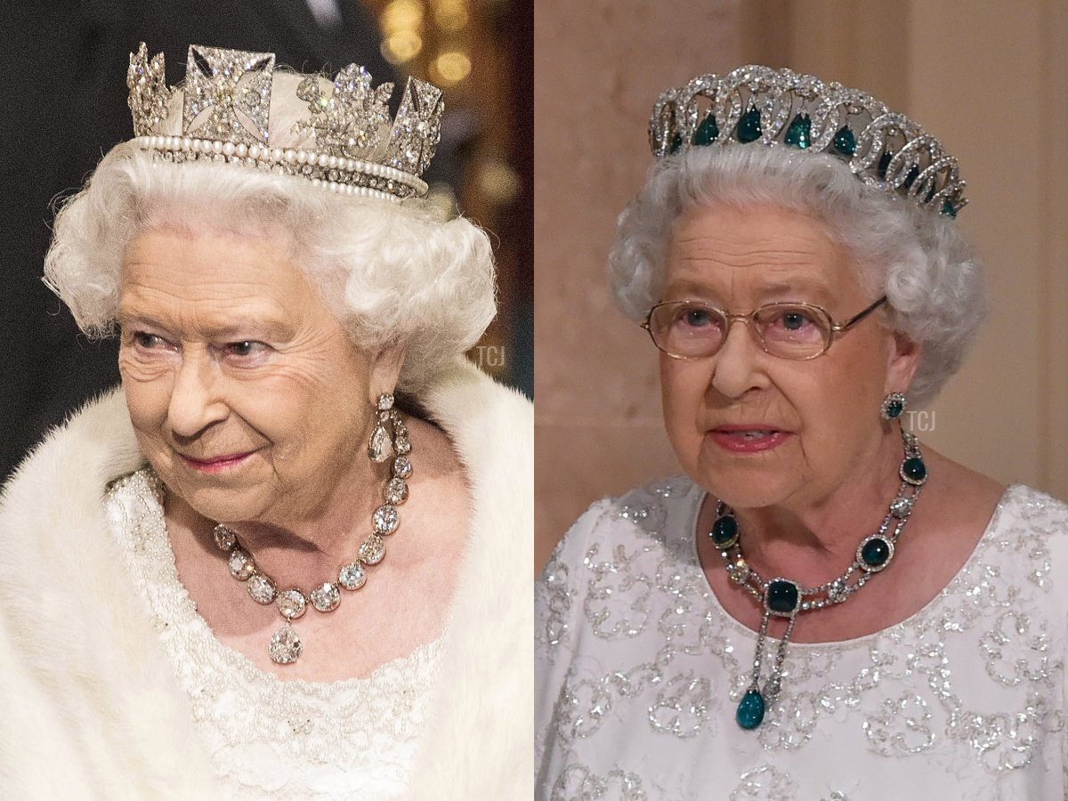 The Coronation Necklace and The Delhi Durbar Necklace