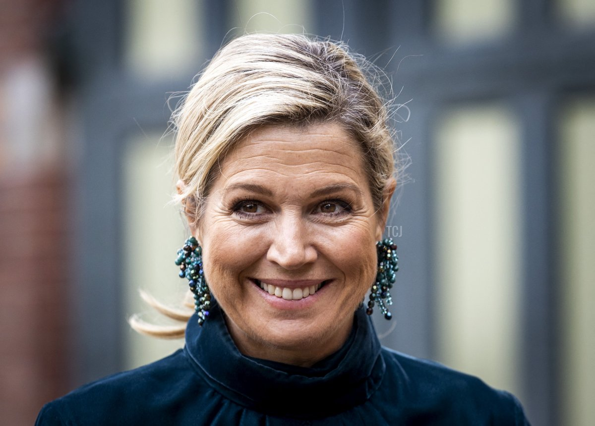 Queen Maxima of the Netherlands attends the launch of the Main Matters Manifesto in De Remise in The Hague on September 30, 2021