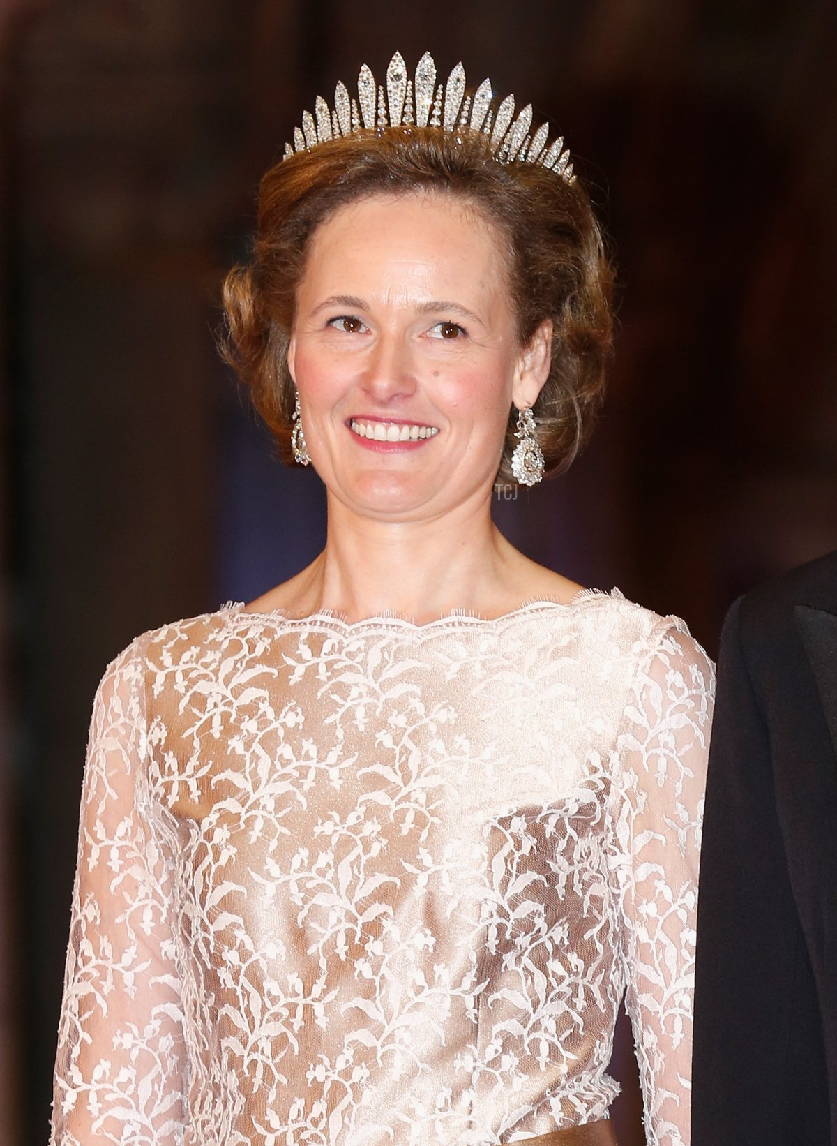 Hereditary Prince Alois and Hereditary Princess Sophie of Liechtenstein arrive on April 29, 2013 to attend a dinner at the National Museum (Rijksmuseum) in Amsterdam hosted by Queen Beatrix of the Netherlands on the eve of her abdication