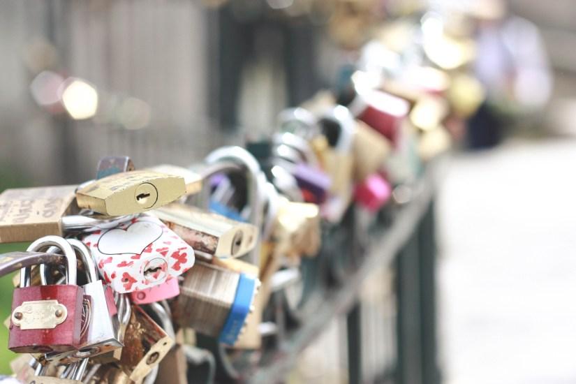 Love locks!