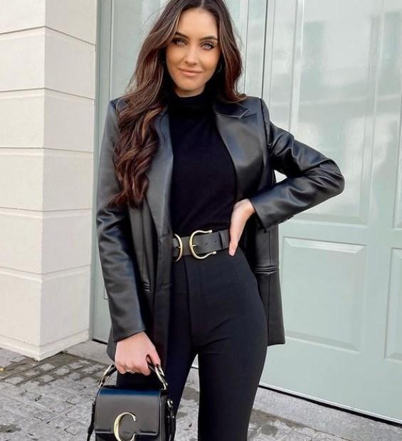 Πώς να φορέσεις μαύρο δερμάτινο σακάκι όπως οι fashionista - The Cover