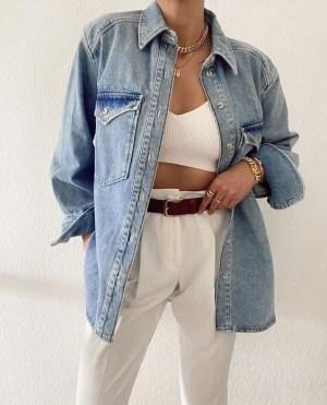 Casual Chic Looks Με Λευκό Παντελόνι Για Την Εβδομάδα