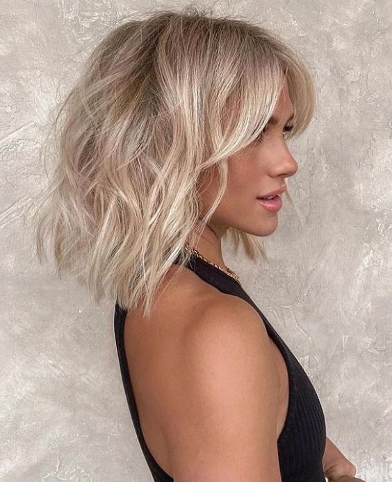 Χρώματα για μακρύ καρέ κούρεμα και μεσαίου μήκους μαλλιά - The Cover