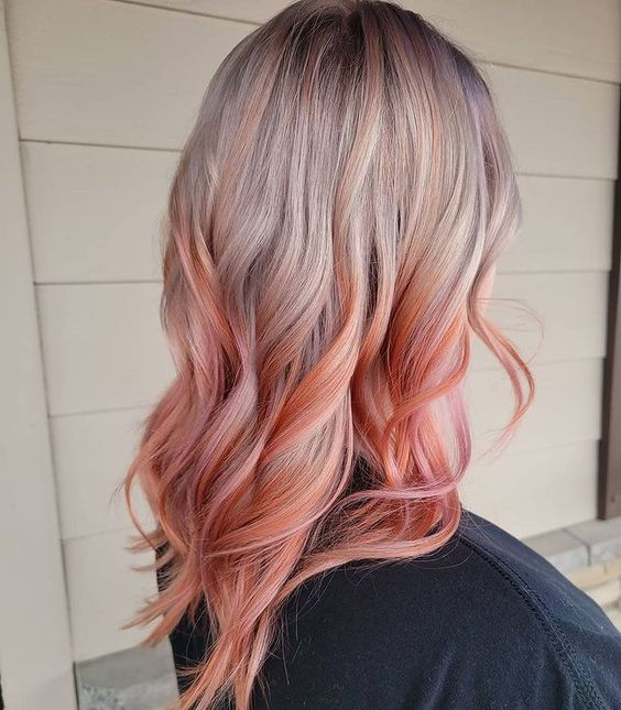 Ombre χρώματα μαλλιών σε φανταστικές αποχρώσεις - The Cover