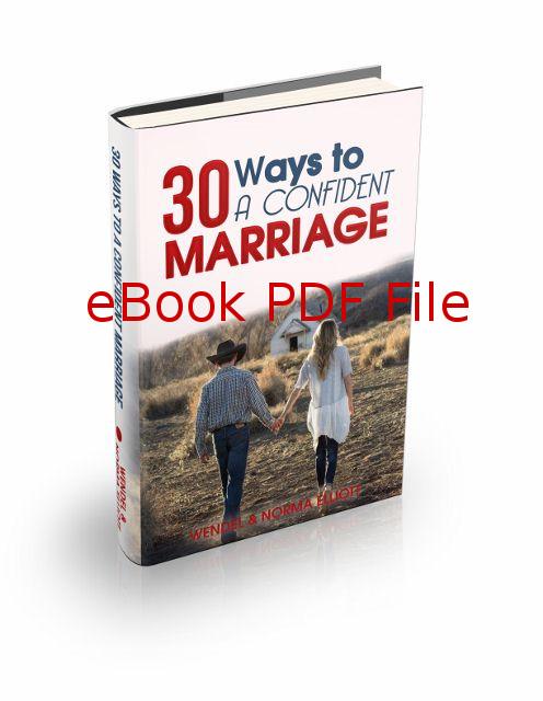 30 Ways To A Confident Marriage (eBook PDF)