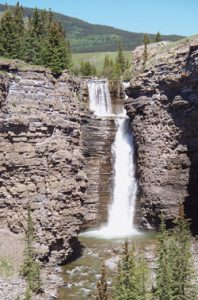 sundre Bighorn Falls