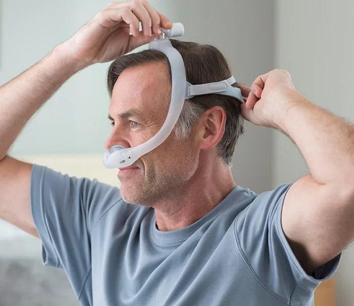 respironics dreamwear gel pillow cpap mask