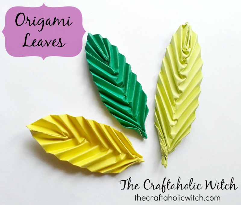Create Easy Origami Leaves