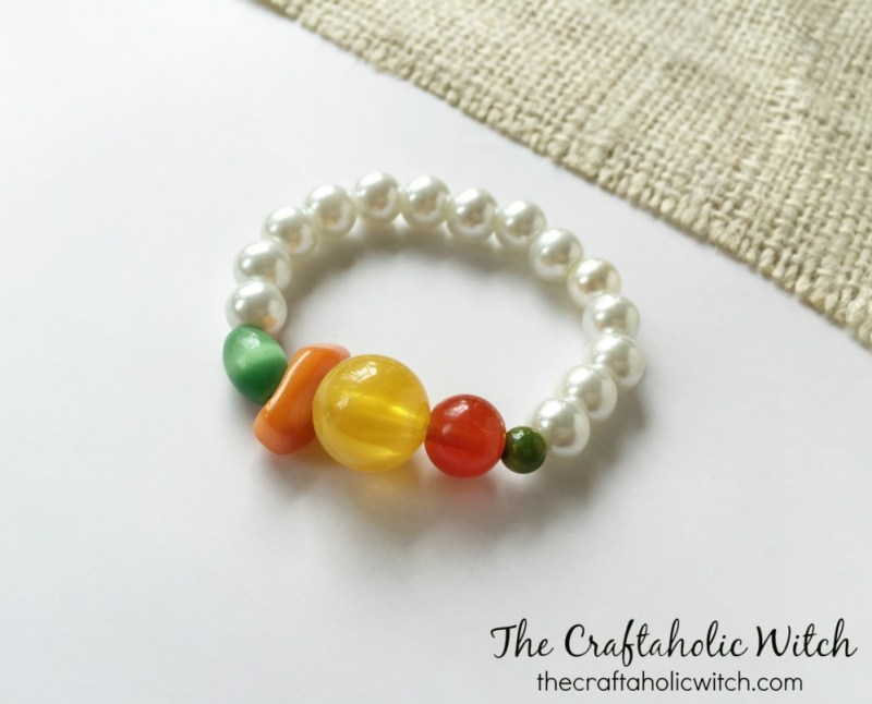 mixed beaded bracelet (1)