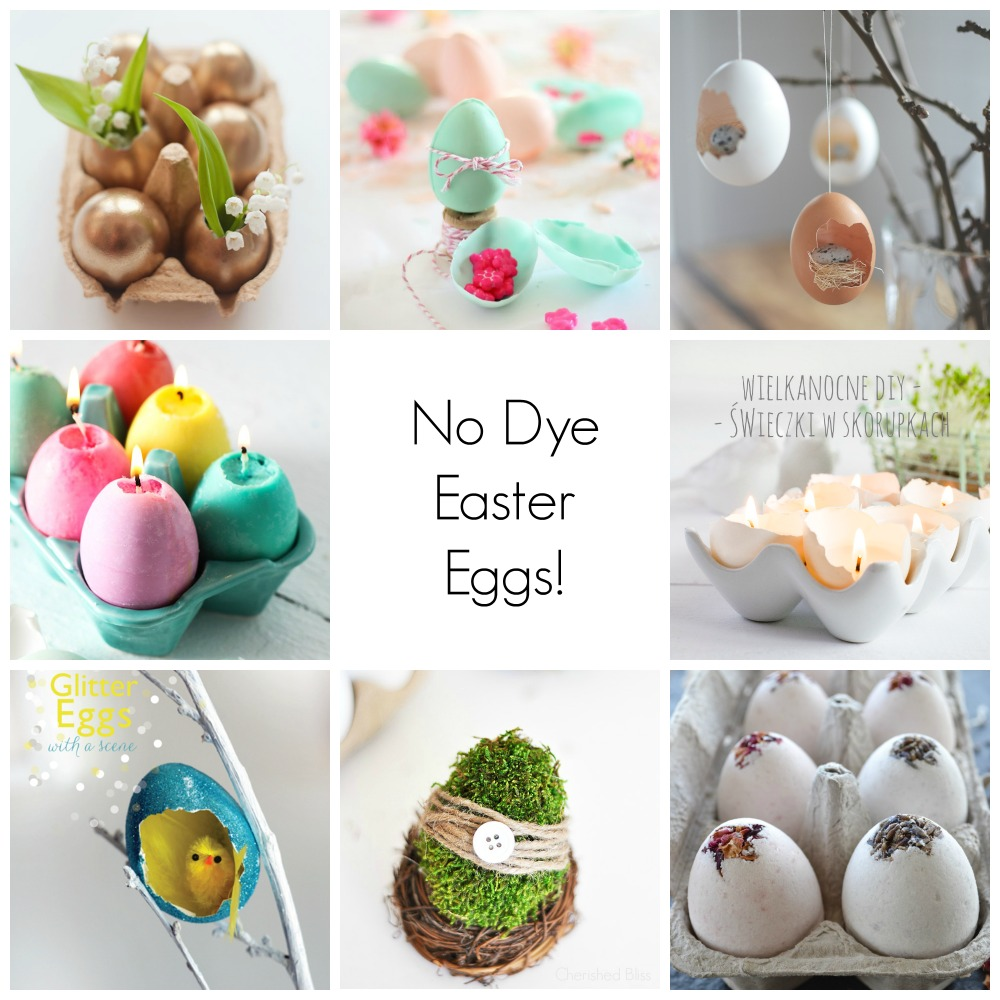 8 No Dye Easter Eggs!