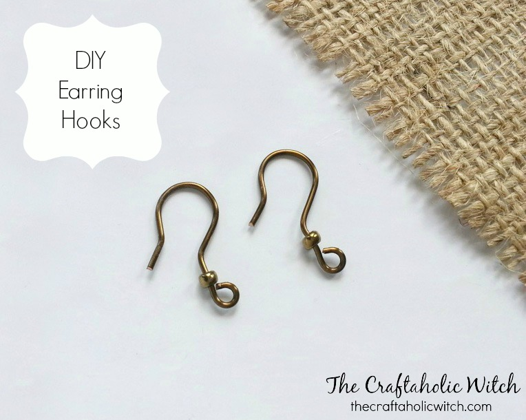 Easy to Make Earring Hooks