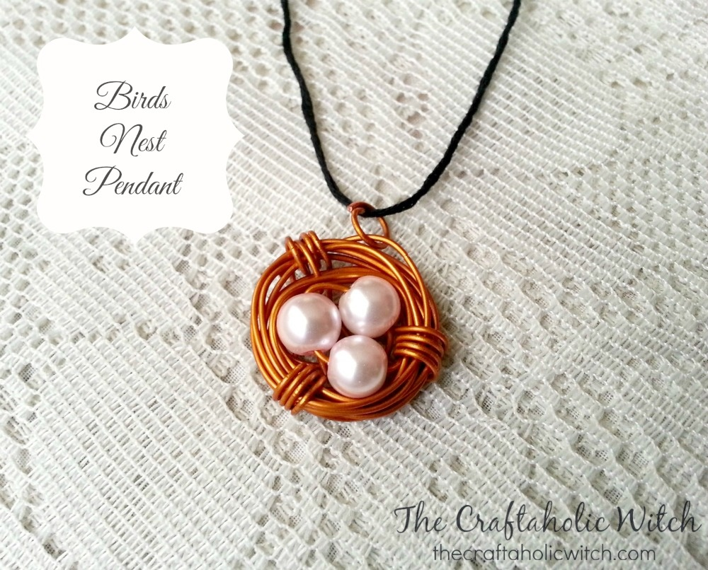 Create Birds Nest Pendant