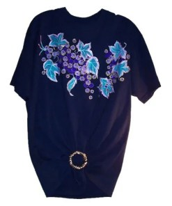 Blue-Flowers T-Shirt