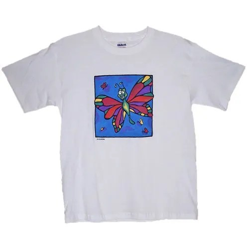 Pretty Butterfly Sky Kids T-Shirt