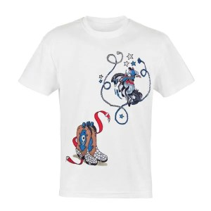 Rodeo Adult T Shirt
