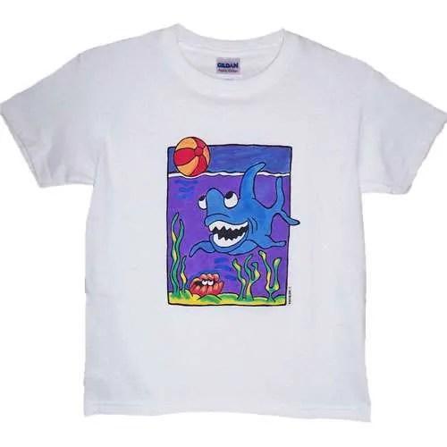 Shark Design T-Shirt