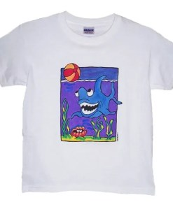 Shark Design T-Shirt
