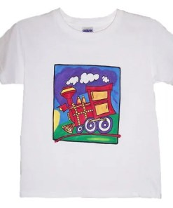 Kids Train T-Shirt