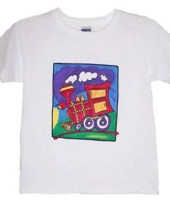 Kids Train T-Shirt