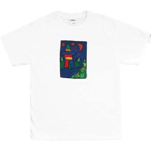 Inukshuk-Navy T-Shirt