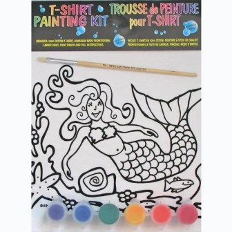 Mermaid Kids T-Shirt Painting Kit
