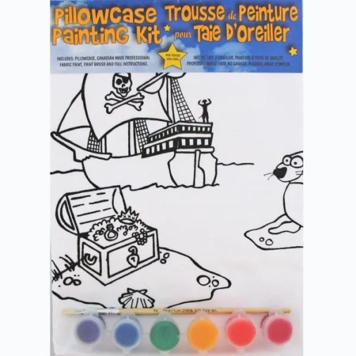 Treasure-Chest Pillowcase Painting Kit