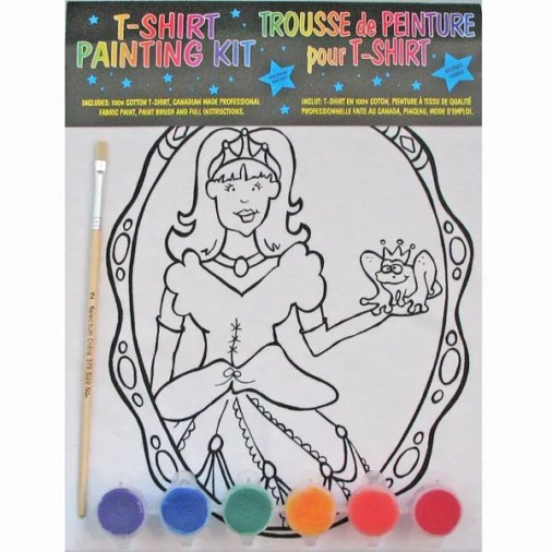 Princess T Shirt Painting Kit