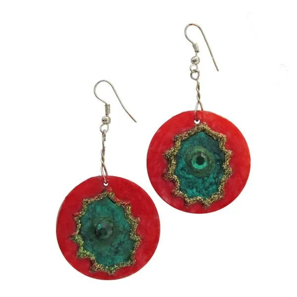 RedGreen-Earrings